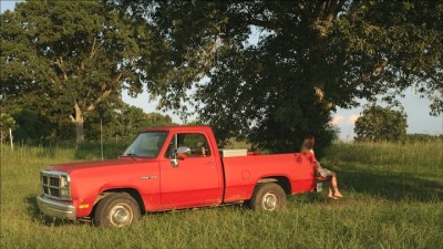A Girl And Her Truck