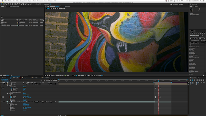Lion in After Effects