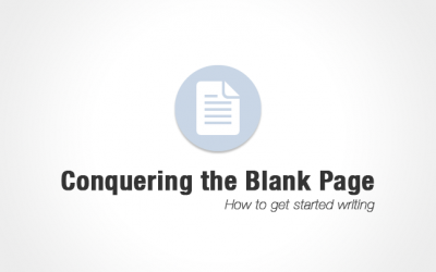 Conquering the Blank Page