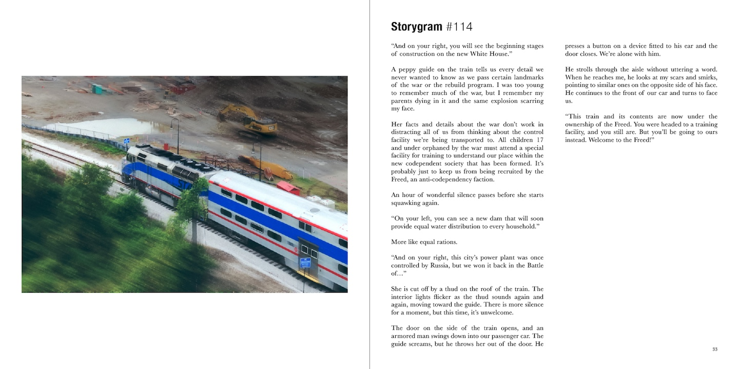 Storygram Volume 2 (SAMPLE STORY 1)