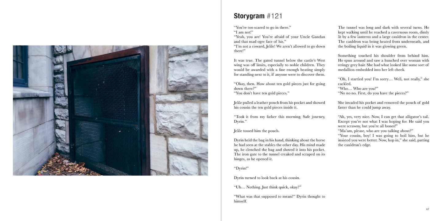 Storygram Volume 2 (SAMPLE STORY 2)