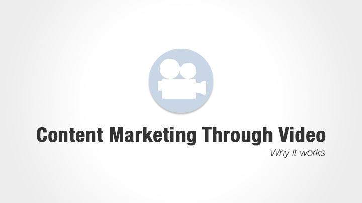 Content Marketing Through Video